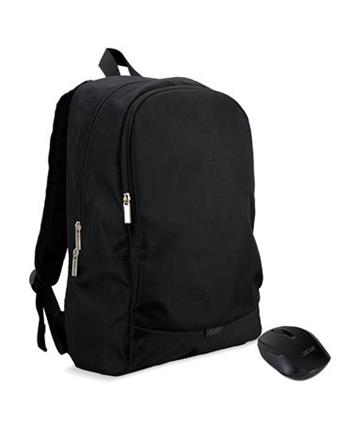 """Acer startovací sada 15.6"""" (ABG950) batoh 15,6"""" černý + bezdrátová myš"""