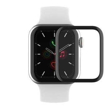 Belkin ochranné sklo pro Apple Watch Série 4/5/6/SE - zahnuté (44 mm) - voděodolné
