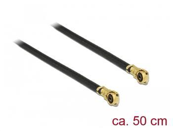 Delock Anténní kabel MHF IV/HSC MXHP32 kompatibilní samec > MHF IV/HSC MXHP32 kompatibilní samec 50 cm 1,13