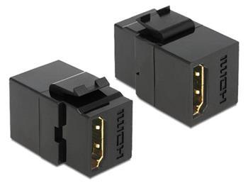 Delock Keystone modul HDMI samice > HDMI samice, černý