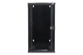 """Digitus nástěnná skříňka 254 mm (10 """") 12U 592x312x300 mm, barva černá (RAL 9005)"""