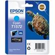 EPSON cartridge T1572 cyan (želva)