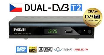 EVOLVEO Gamma T2, Dual HD DVB-T2 H.265/HEVC multim