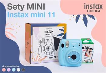 Fujifilm INSTAX MINI 11+ 10 SHOTS - Sky Blue