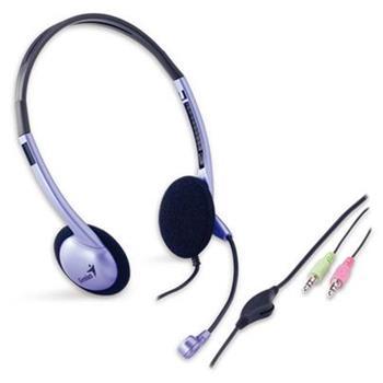 Genius headset HS-02B (stereo sluchátka