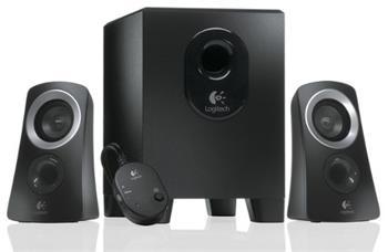 Logitech reproduktory Z313 2.1, černé