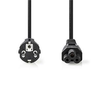 Nedis CEGP10130BK50 - Napájecí Kabel | Schuko Zástrčka - IEC-320-C5 | 5 m | Černá barva
