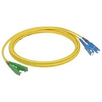 OPTIX E2000/APC-SC optický patch cord 09/125 15m G657A