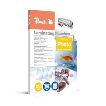 PEACH laminovací folie Photosize 10x15 cm (106x156 mm), 125mic, 25 ks