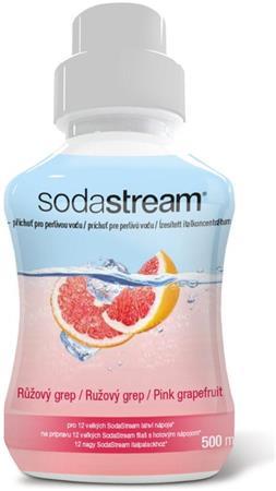 SodaStream Sirup ružový grep 500 ml