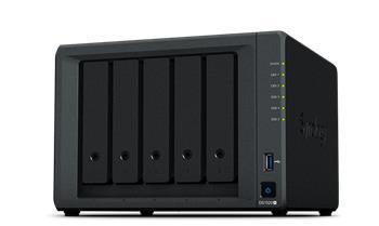 Synology DS1520+ Intel Celeron J4125, 8 GB DDR4, 4x LAN, 2x USB 3.0, 2x eSata