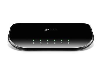 TP-Link TL-SG1005D Switch 5xTP 10/100/1000Mbps, plastový