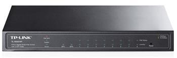 TP-Link TL-SG2210P 8-Port Gigabit desktop Smart Switch, 2xSFP, 802.3af, 53W PoE power supply