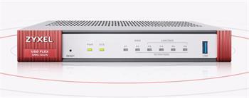Zyxel USG Flex 100 Firewall 10/100/1000,1*WAN, 1*SFP, 4*LAN/DMZ ports, 1*USB (Device only)